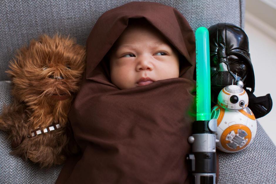 Max Zuckerberg disfrazada de un personaje de Star Wars. (Foto: Facebook)