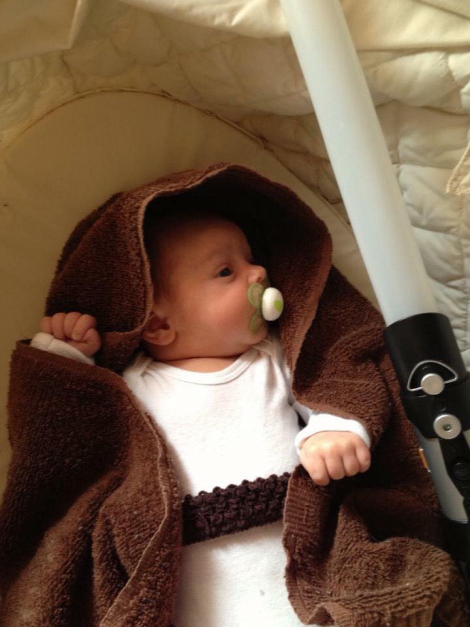 Usuarios disfrazan a sus hijos de personajes de Star Wars. (Foto: Facebook/Lara Bartow)