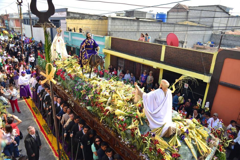 Jesús de Las Palmas también es conocido como Jesús de la Borriquita. (Foto: Jesús Alfonso/Soy502)