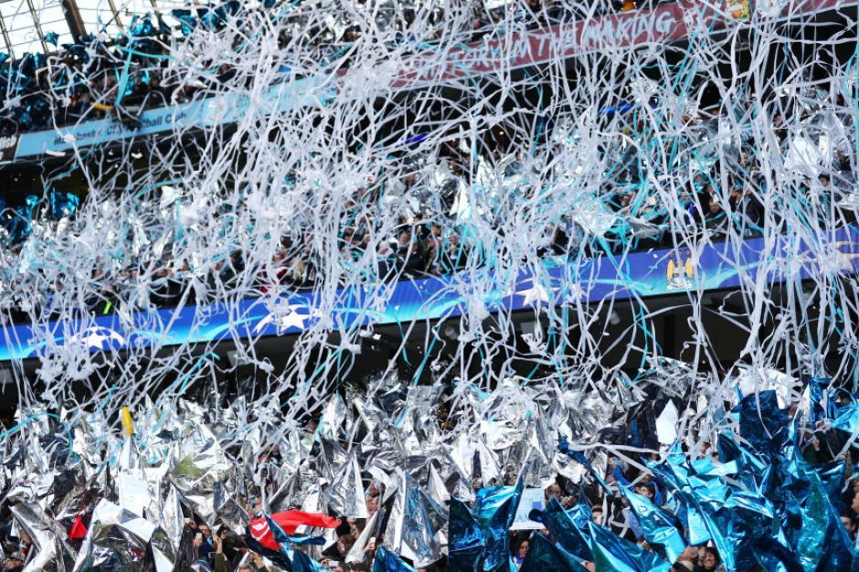 Así lució el Etihad Stadium. (Foto: vivelohoy.com)