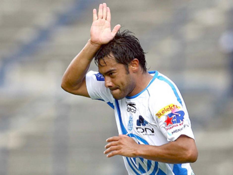 Carlos Ruiz jugó con el Puebla de México donde fue el goleador del equipo. (Foto: Twitter)