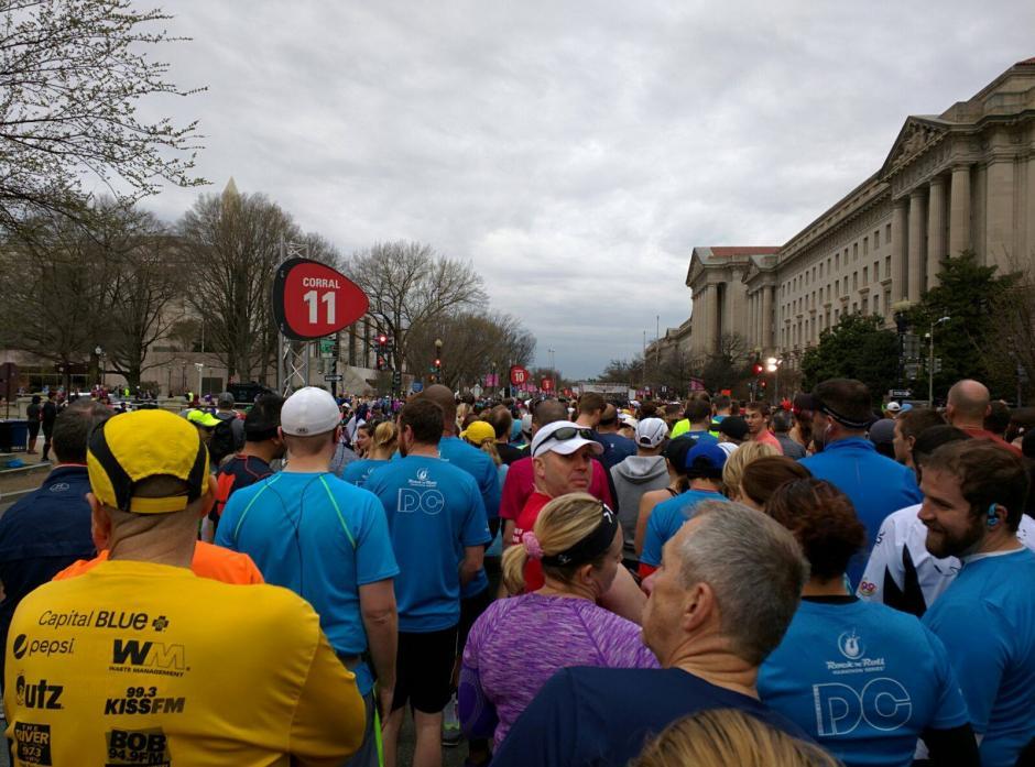 Parte del recorrido en la Maratón Rock n' Roll, en Washington, en Estados Unidos. (Foto: Alejandro Donis)
