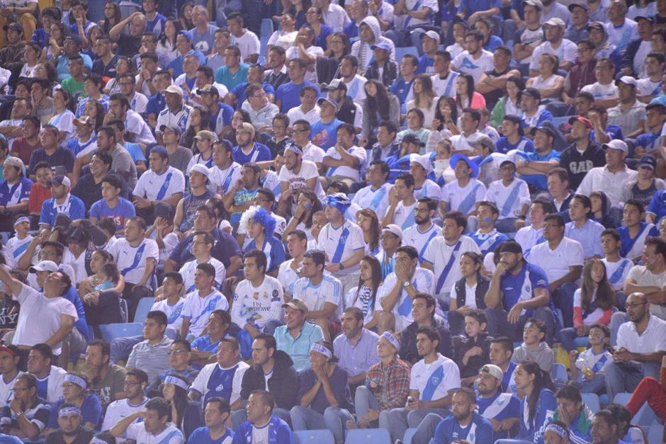 La afición alentó a la Selección Nacional durante los 90 minutos. (Foto: Wilder López/Soy502)
