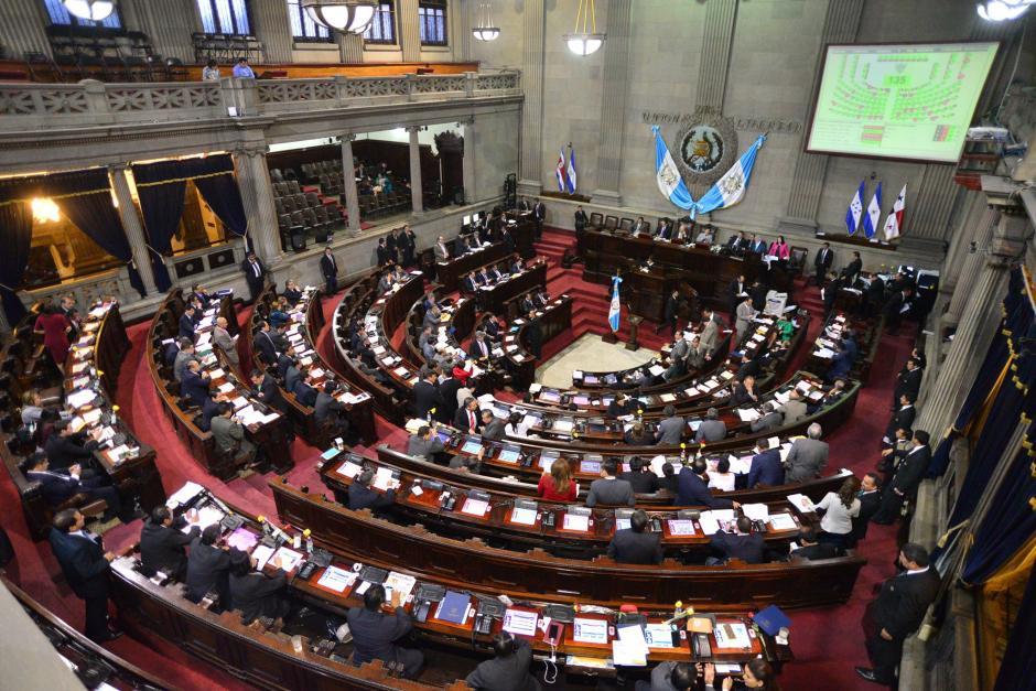 La asistencia fue notoria de todas las bancadas. (Foto: Wilder López/Soy502)