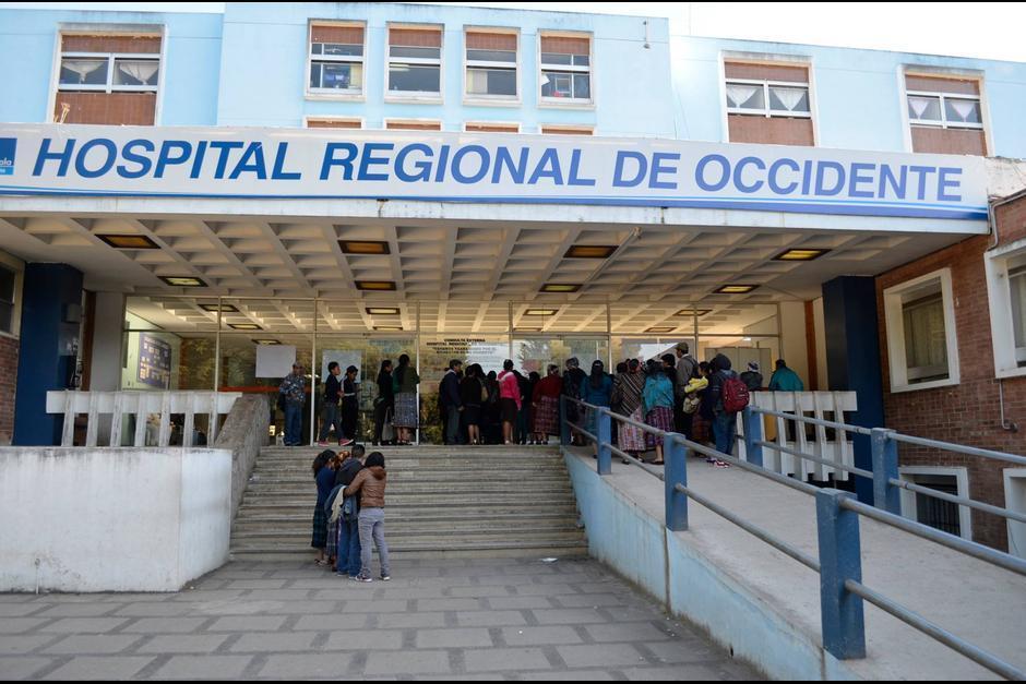 Capturan a empleado del Hospital Regional de Occidente que habría robado equipo médico. (Foto: Archivo/Ministerio de Salud)