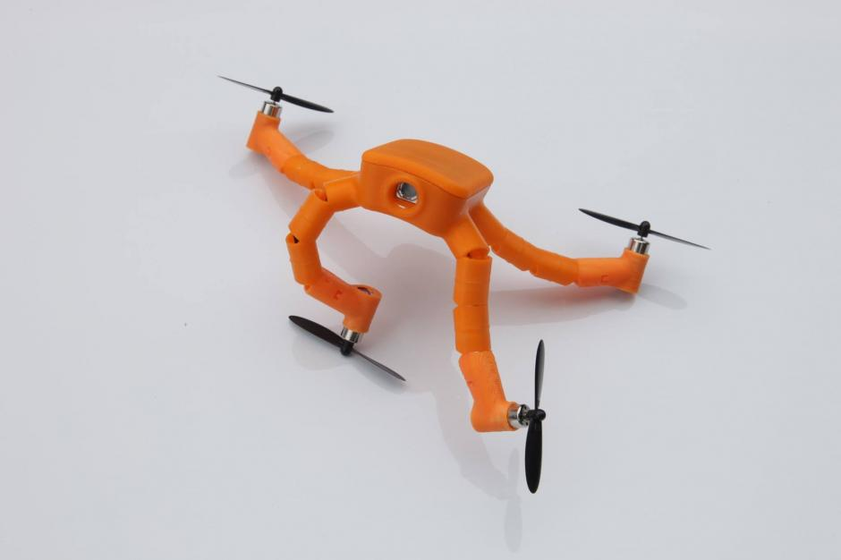 Nixie es un drone que se dobla como una pulsera. (Foto: facebook/flynixie)