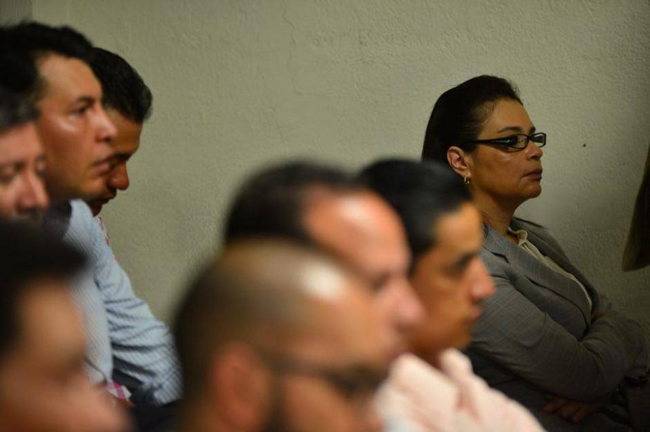 La exvicepresidenta Roxana Baldetti escuchó con atención como el juez de Villa Nueva la ligó a proceso. (Foto: Jesús Alfonso/Soy502)