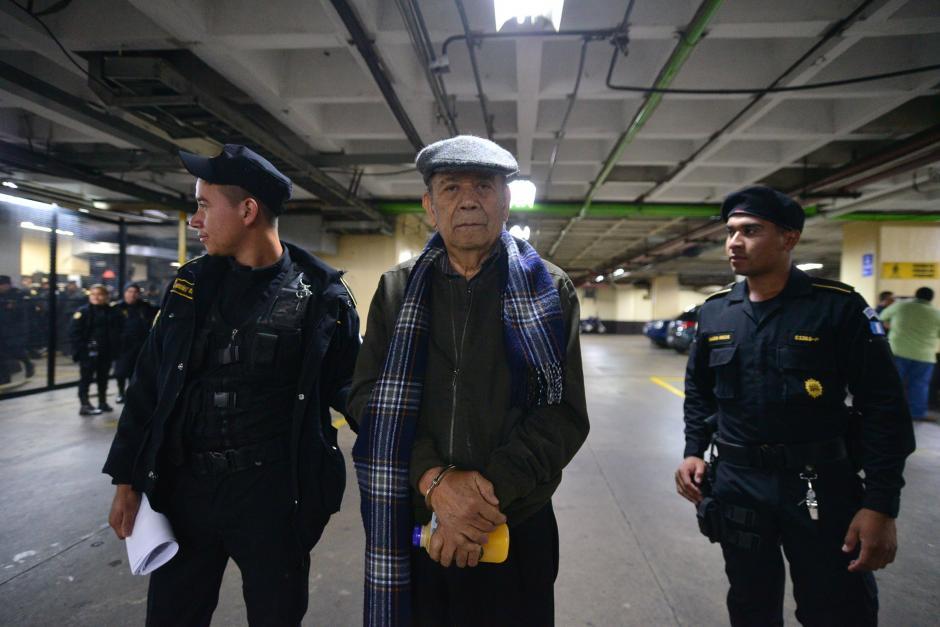 Édgar Rolando Hernández Méndez también fue detenido acusado de delitos contra los Derechos Humanos.(Foto: Wilder López/Soy502)