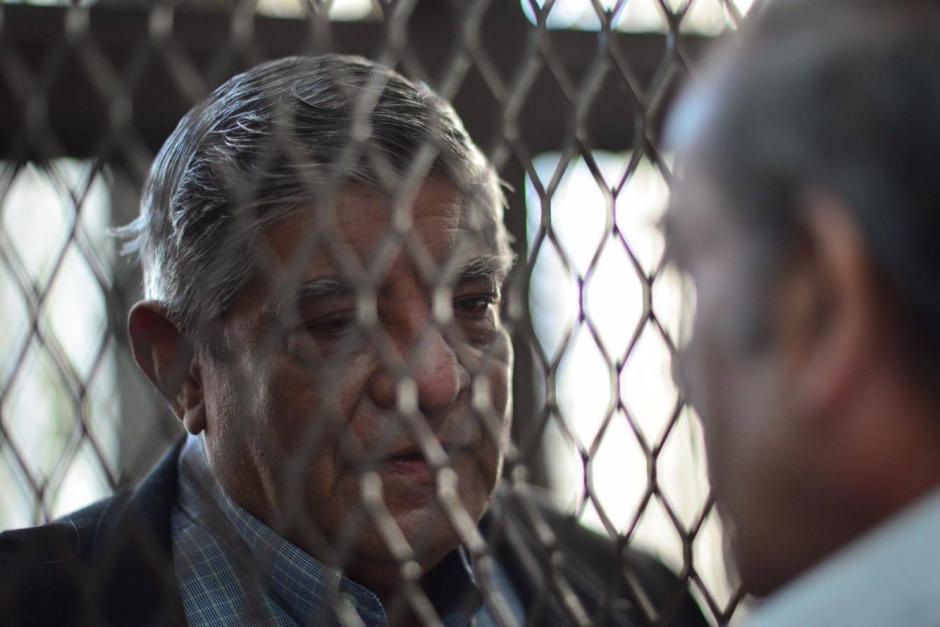 Este viernes inició la audiencia de primera declaración de los militares retirados que fueron capturados por supuestamente estar involucrados en desapariciones forzadas. (Foto: Jesús Alfonso/Soy502)