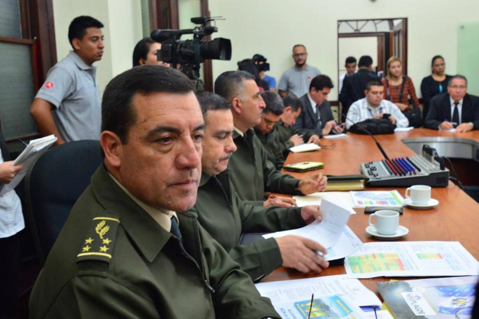 El ministro de la Defensa fue citado por las comisiones de la Mujer y de la Defensa. (Foto: Jesús Alfonso/Soy502)