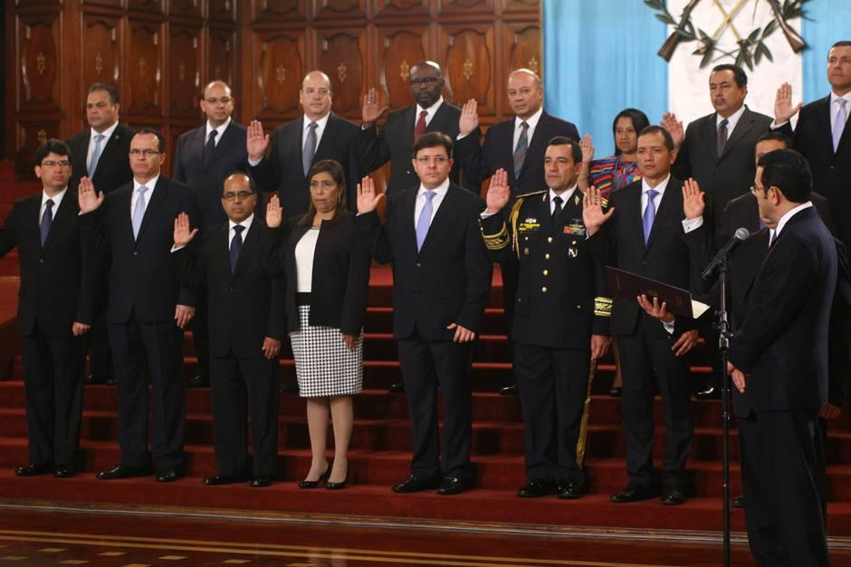 Qui nes son los ministros de jimmy morales soy502 for Ministros del gobierno
