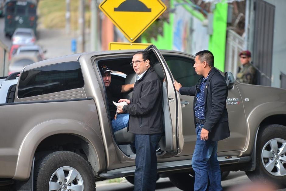 Sammy Morales declaró que él en ningún momento los recomendó o los colocó en algún cargo. (Foto: Archivo/Soy502)
