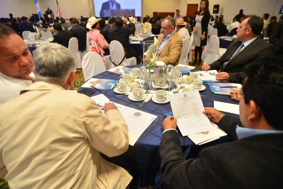 Alcaldes guatemaltecos participan en el Simposio de Enfoque en Asuntos de Seguridad Ciudadana para el Gobierno Local. (Foto: Wilder López/Soy502)