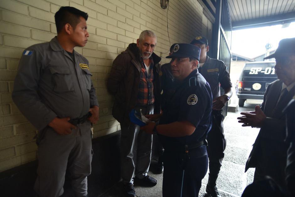 El expresidente de la Federación de Fútbol, Brayan Jiménez fue trasladado hacia la Torre de Tribunales para que se inicie el proceso de extradición en su contra por un supuesto caso de corrupción. (Foto: Wilder López/Soy502)