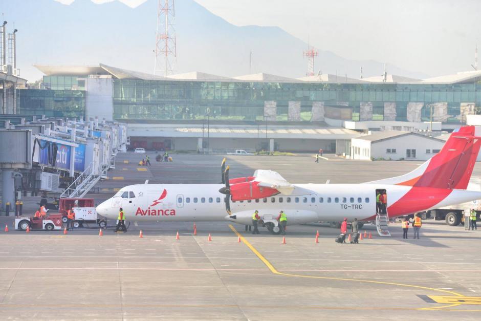 El Aeropuerto Internacional La Aurora reanudó sus operaciones luego de permanecer cerrado desde la noche del pasado miércoles. (Foto: Jesús Alfonso/Soy502)