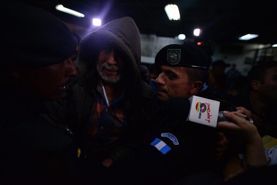 Jiménez se encontraba en estado de ebriedad al llegar a la Torre de Tribunales. (Foto: Wilder López/Soy502)