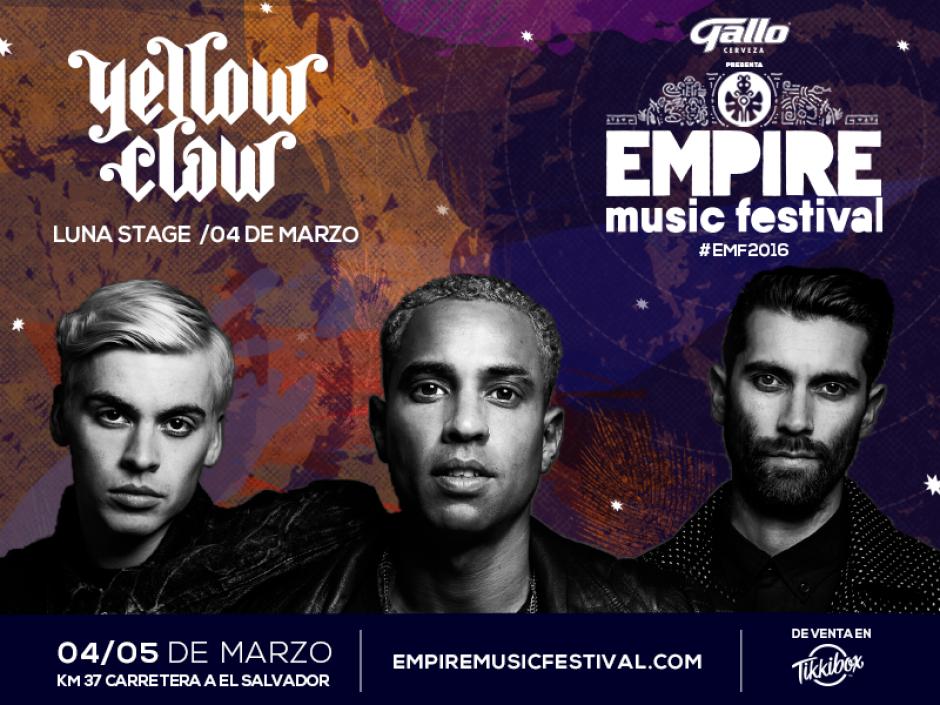Foto: Empire Musica Festival.