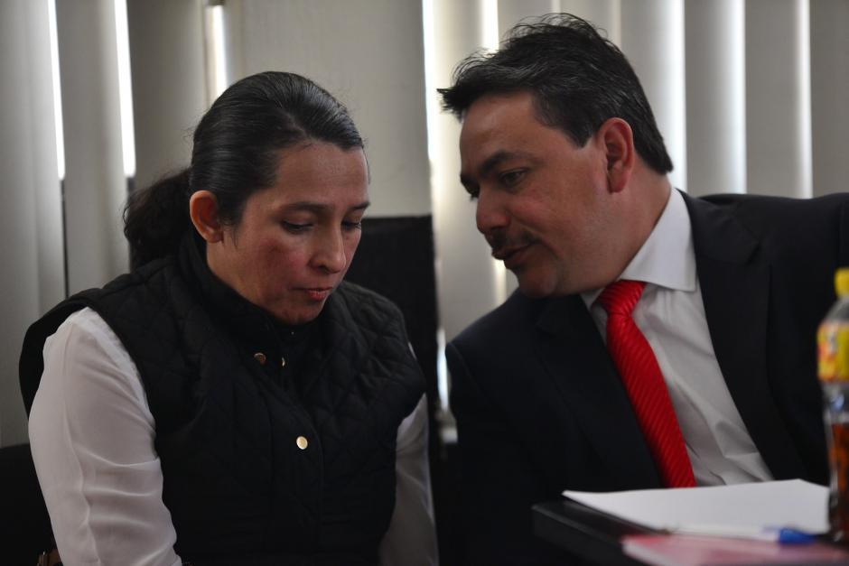 La exasistente de Pedro Muadi, Claudia Bolaños aceptó que tenía contrato en el Congreso de la República pero no llegaba. (Foto: Wilder López/Soy502)