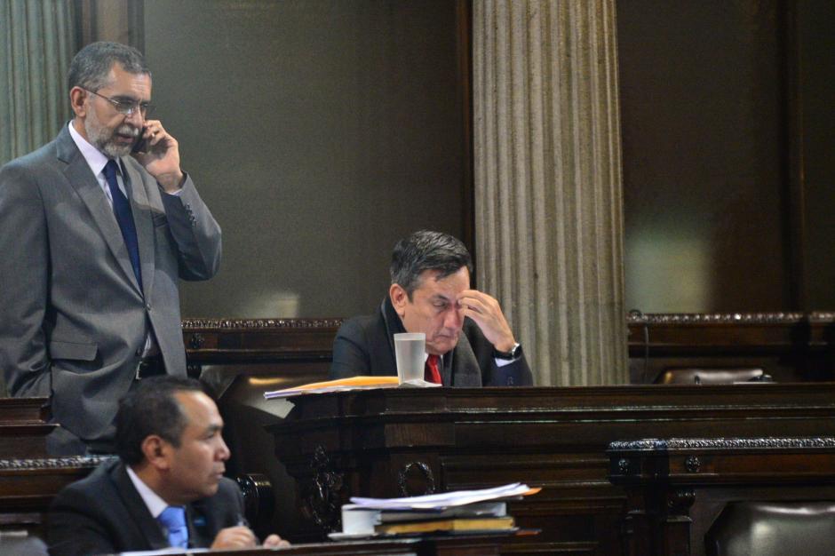 El jefe de la bancada LIDER, Roberto Villate, también sucumbió ante el informe del BANGUAT. (Foto: Wilder López/Soy502)