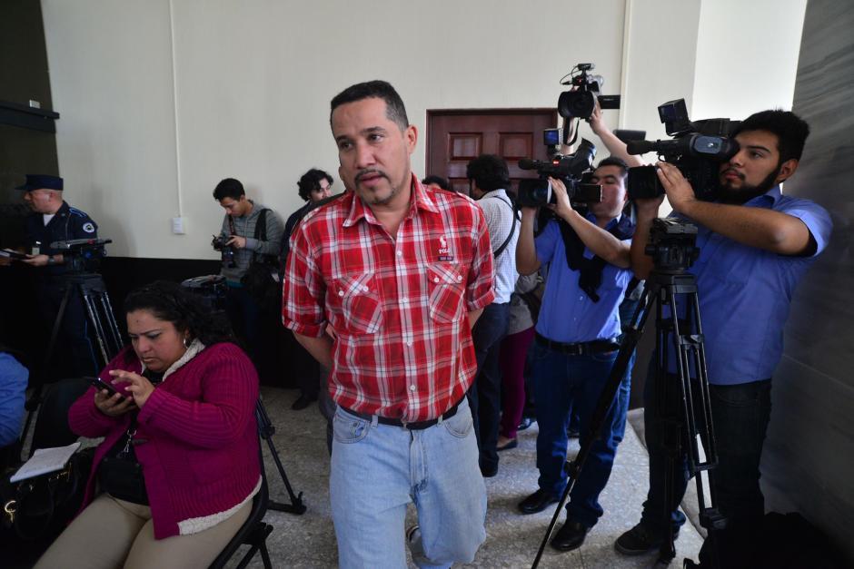 José Blanco, otro de los sindicados en el caso de Plazas Fantasmas en el Congreso de la República se abstuvo de declarar. (Foto: Wilder López/Soy502)