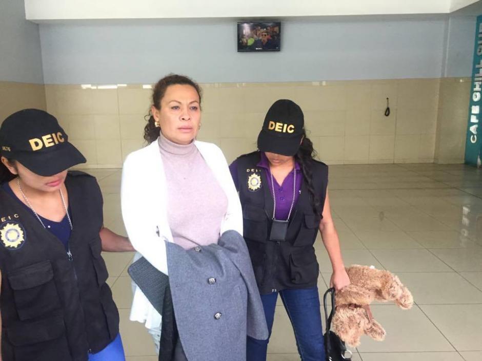 Se le acusa de autora intelectual del asesinato de su esposo Byron Geovany Andrade Salazar en 2011. (Foto: PNC)