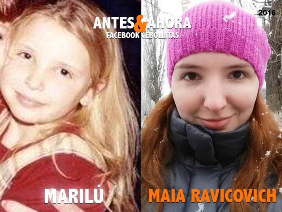 Maia se alejó de las cámaras para dedicarse a su carrera como abogada. (Foto: Cebollitas/Facebook)