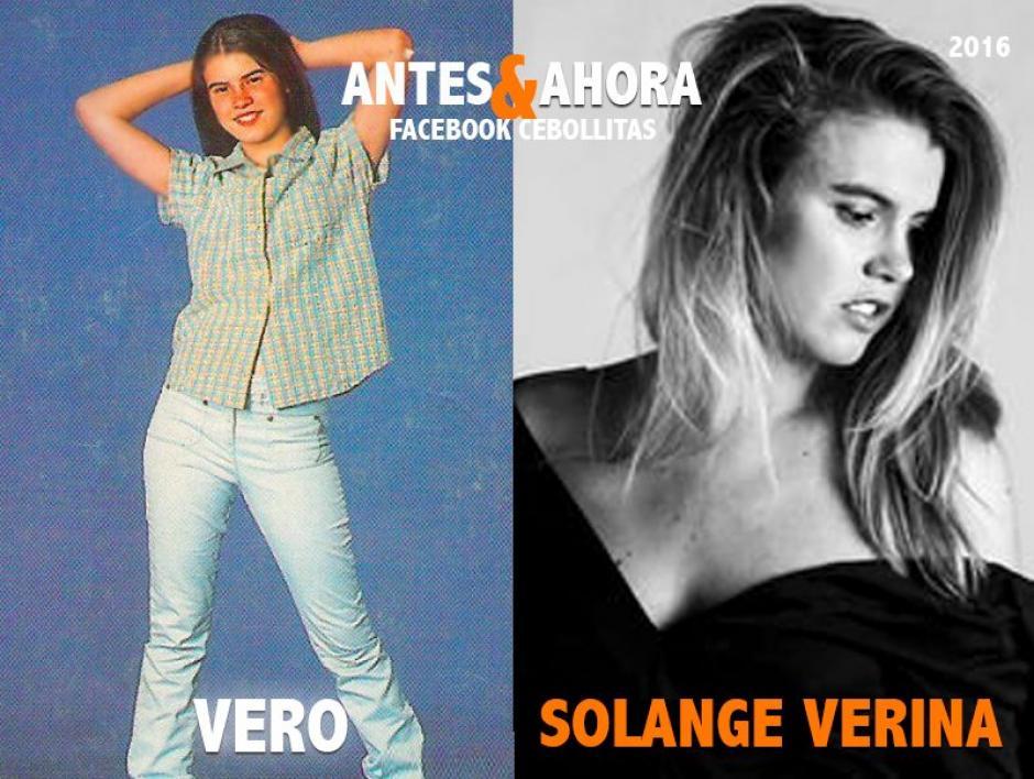 Solange Verina aún actúa en telenovelas y tiene una tienda de ropa por internet. (Foto: Cebollitas/Facebook)