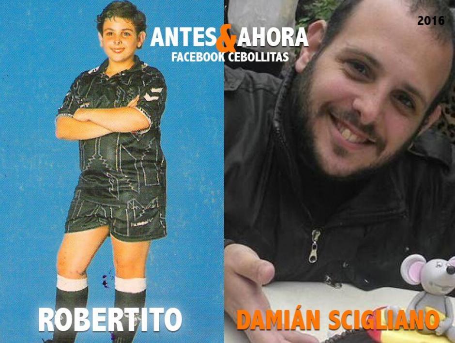 """""""Robertito"""" es maestro de lenguaje de señas. (Foto: Cebollitas/Facebook)"""