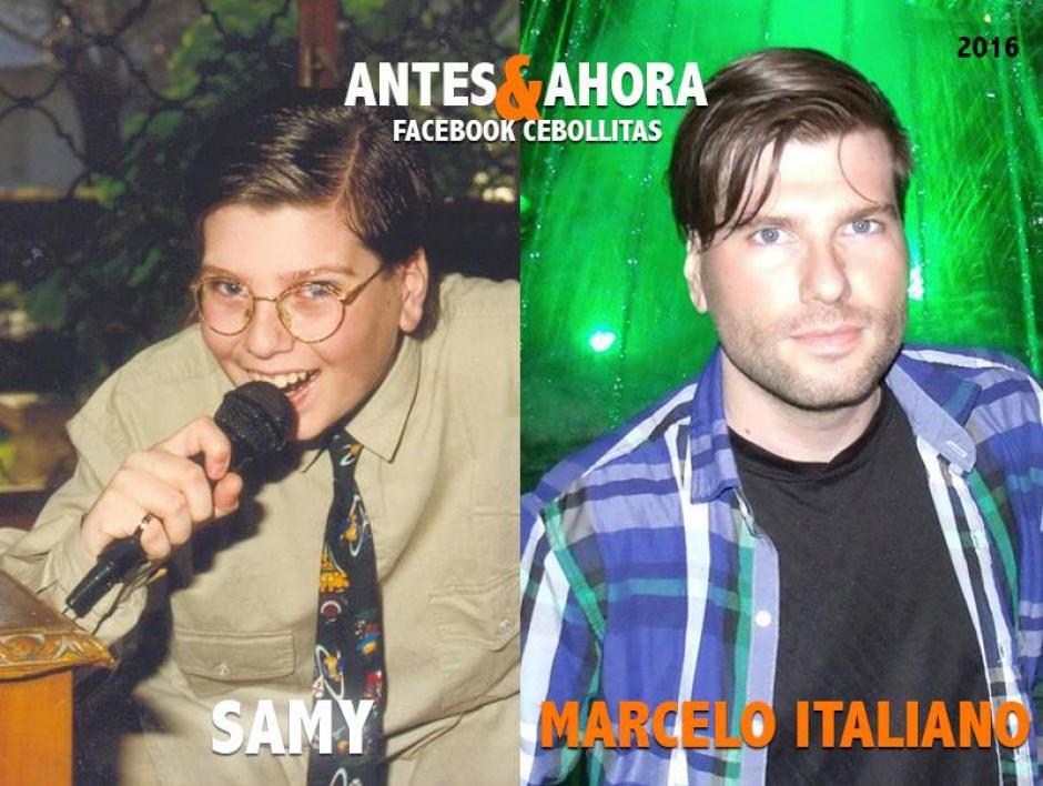 """""""Samy"""" es maestro de artes visuales, teatro y TV en su propia escuela de Cine. (Foto: Cebollitas/Facebook)"""
