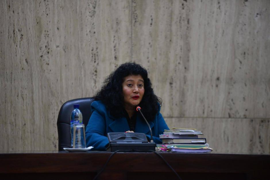 La jueza Jazmín Barrios, fue quien presidió el juicio. (Foto Archivo/Soy502)