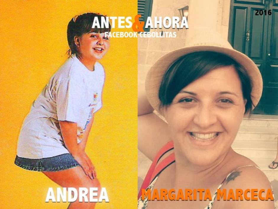"""""""Andrea"""" vive en Barcelona y es maestra en un colegio de señoritas. (Foto: Cebollitas/Facebook)"""