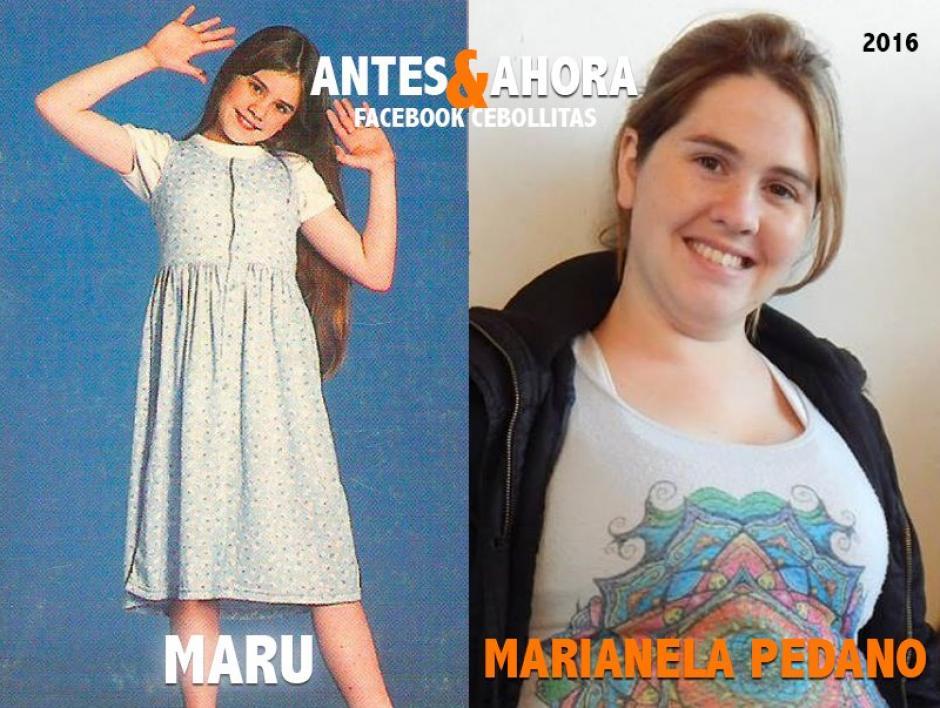 Tras interpretar varios personajes en series infantiles, Marianela se alejó de las pantalla y hoy es madre de 2 niños. (Foto: Cebollitas/Facebook)