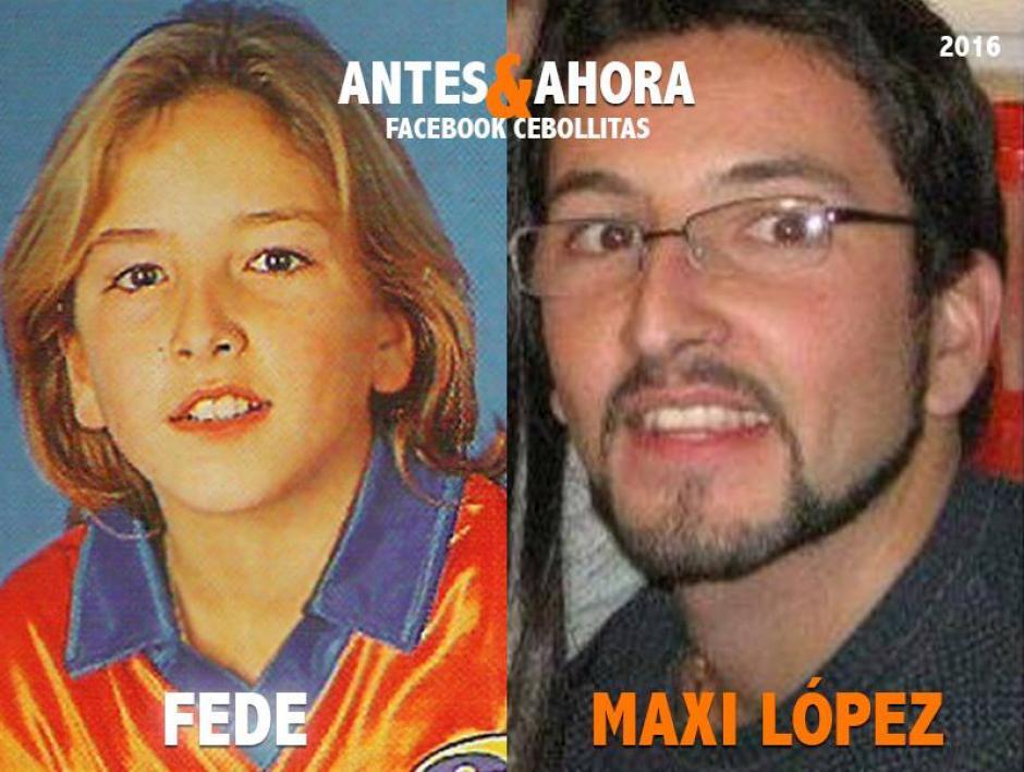 Maxi López se retiró de la televisión, optó por una vida privada y familiar. (Foto: Cebollitas/Facebook)