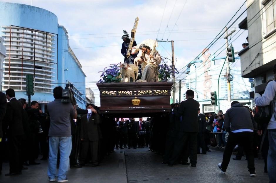 La procesión tiene una larga tradición histórica en Guatemala. (Foto: Alejandro Balan/Soy502)