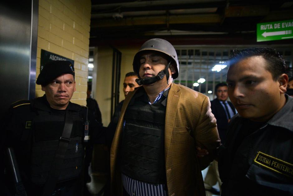 Juan Carlos Monzón fue requerido para este miércoles para la audiencia del Caso La Línea. (Foto: Wilder López/Soy502)