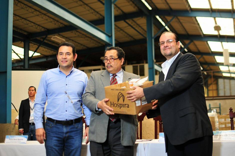 El lote donado incluye medicamentos para varias enfermedades. (Foto: Alejandro Balan/Soy502)