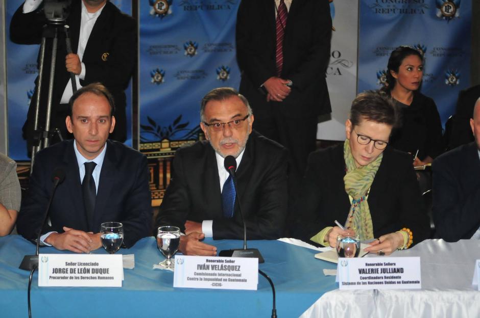 Las propuestas son respaldadas por el Procurador de los Derechos Humanos (PDH) y el Programa de las Naciones Unidas para el Desarrollo (PNUD). (Foto: Alejandro Balan/Soy502)