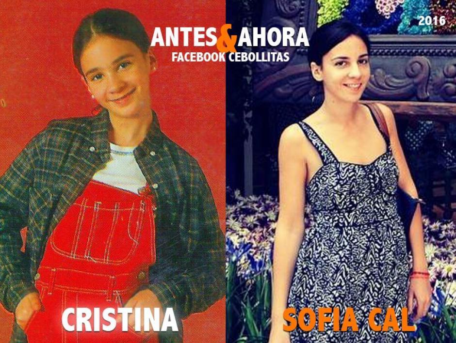 Sofía Cal se retiró de la televisión, hoy es arquitecta con su propio estudio. (Foto: Cebollitas/Facebook)