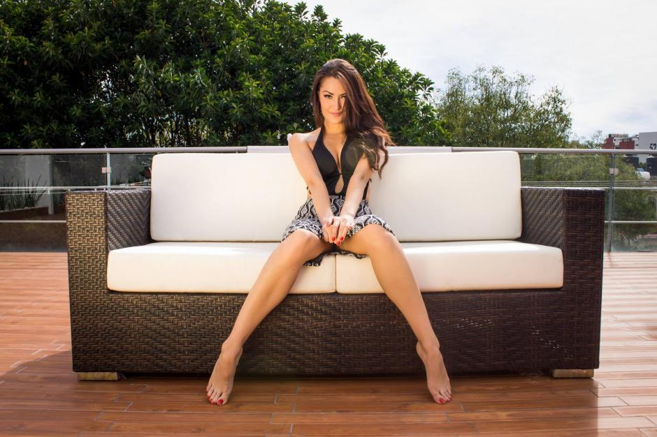Lourdes Figueroa siempre está atenta para los llamados para sesiones de fotos y castings. (Foto: Revista Open)