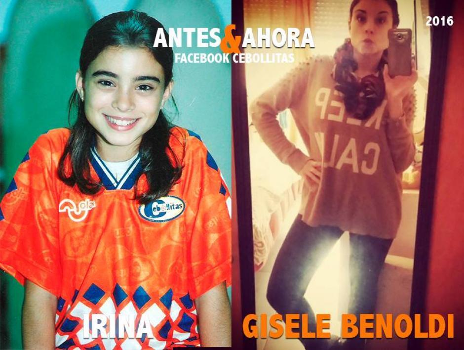 Gisele Benoldi es actriz, hace poco se convirtió en madre. (Foto: Cebollitas/Facebook)