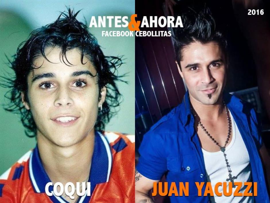 """Juan Yacuzzi aún es conocido como """"Coqui"""". Se ha dedicado a la actuación y a la conducción de programas televisivos. (Foto: Cebollitas/Facebook)"""