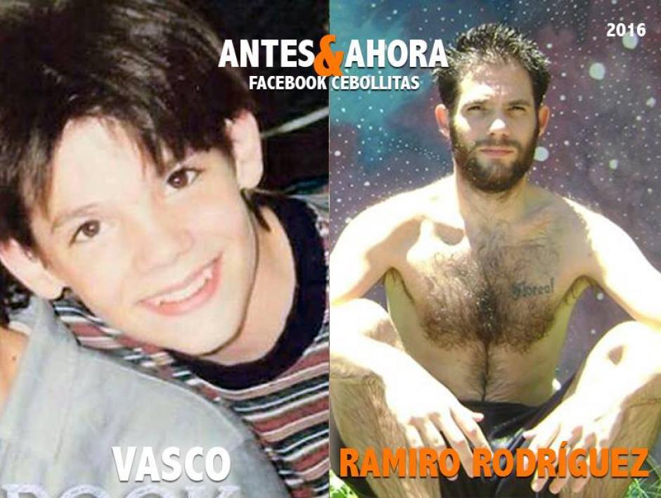 """""""Vasco"""" es actor y cantante. (Foto: Cebollitas/Facebook)"""