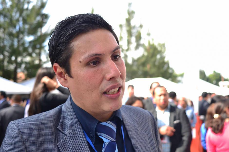 Óscar Schaad fue electo como integrante del consejo del MP. (Foto: Jesús Alfonso/Soy502)