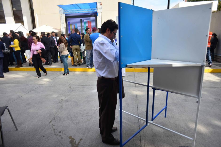 La votación para designar a los integrantes del consejo del MP se realizó en el edificio central ubicado en el barrio Gerona. (Foto: Jesús Alfonso/Soy502)