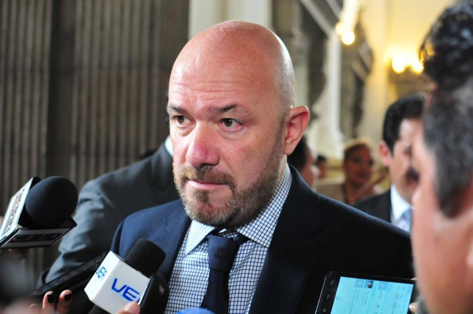 Alberto Brunori, representante del Alto Comisionado de Naciones Unidas para los Derechos Humanos (OACNUDH). (Foto: Alejandro Balan/Soy502)
