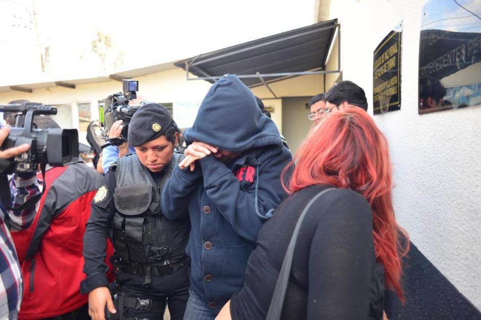 Otra de las aprehendidas es Sandra Nineth García, sindicada de cohecho pasivo, asociación ilícita y fraude. (Foto: Jesus Alfonso/ Soy502)