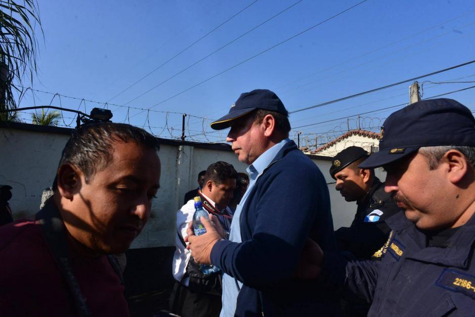 Manuel Francisco Sosa, capturado por el delito de enriquecimiento ilícito. (Foto: Jesús Alfonso/ Soy502)