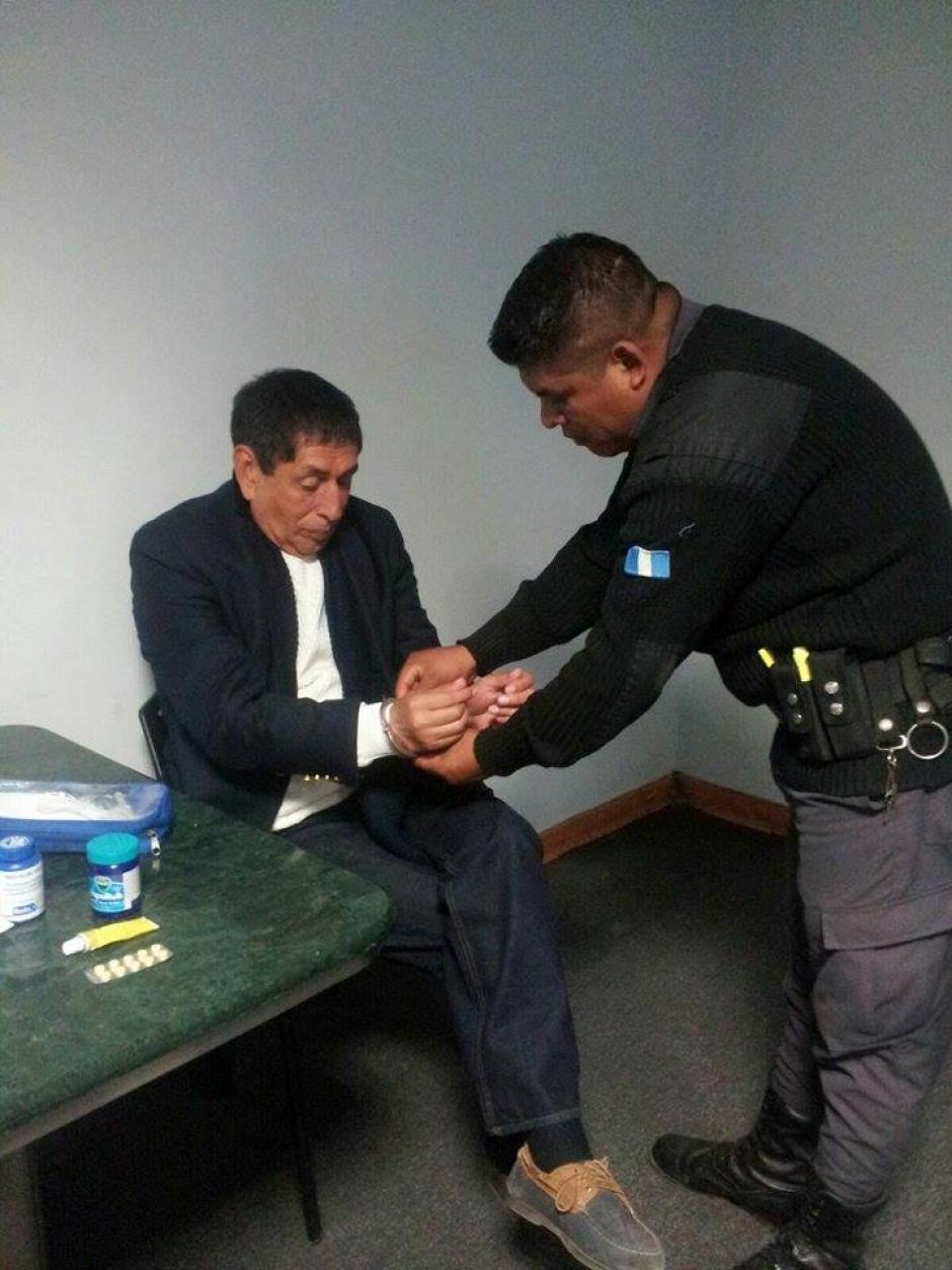 Agentes de Estados Unidos condujeron el proceso de extradición de Jiménez. (Foto: Mingob)