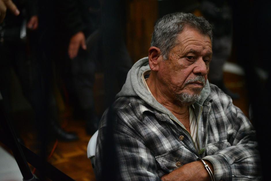 Heriberto Valdez Asij fue sentenciado a 240 años de prisión por varios delitos. (Foto: Wilder López/Soy502)