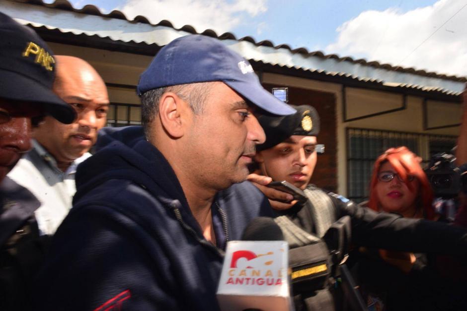 Mario Alejandro Baldetti Elías, hermano de la exvicepresidenta. (Foto: Alejandro Balán/Soy502)